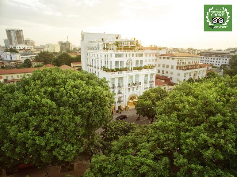 Apricot nằm trong Top 1% các khách sạn trên TripAdvisor, và lọt vào Top 25 khách sạn sang trọng nhất tại Việt Nam.