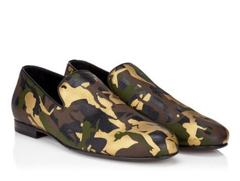 giày nam Jimmy Choo 2015 sloane camouflage 1 - elle việt nam