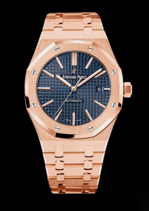 đồng hồ nam cao cấp rose gole - Audemars Piguet – Royal Oak Selfwinding - elle man