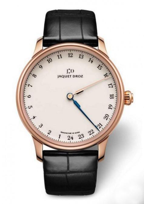 đồng hồ nam cao cấp rose gole - Jaquet Droz – Grande Heure GMT - elle man