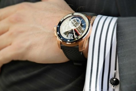 đồng hồ nam cao cấp rose gole - featured image - elle man