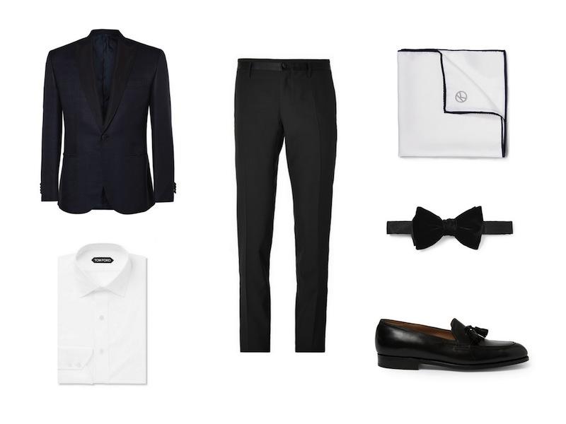 cách phối đồ cùng tuxedo - The dapper suit - elleman