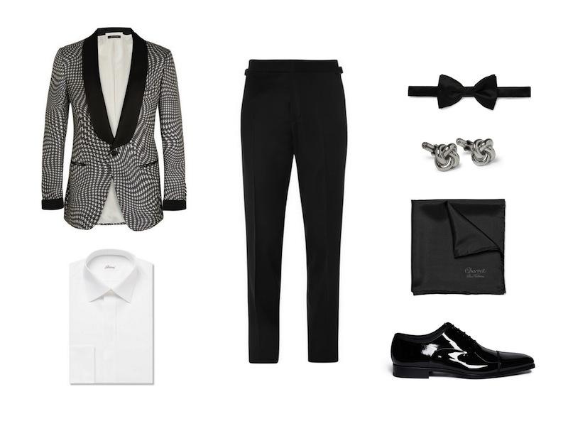 cách phối đồ cùng tuxedo - The flamboyant suit - elleman