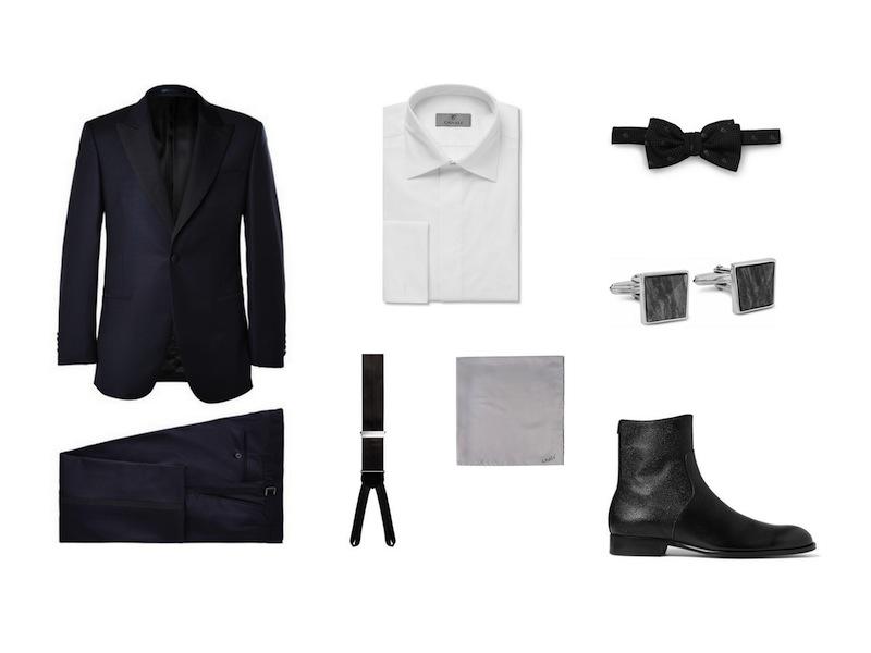 cách phối đồ cùng tuxedo - The quirky suit - elleman