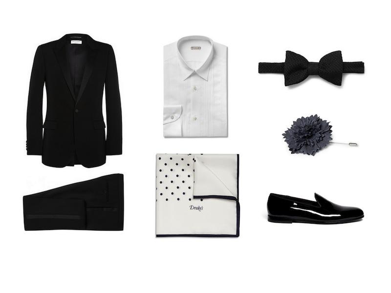 cách phối đồ cùng tuxedo - The sleek suit - elleman