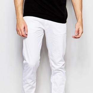Các xu hướng áo & quần jeans nam hot 2016 - White Armani jeans - elleman