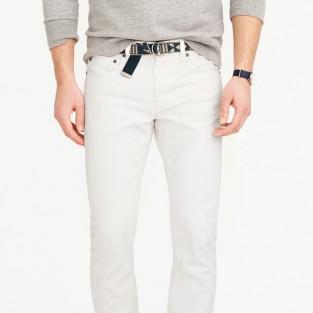 Các xu hướng áo & quần jeans nam hot 2016 - White Asos 484 rinsed white jeans - elleman