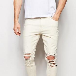 Các xu hướng áo & quần jeans nam hot 2016 - distressed ASOS skinny - elleman