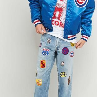 Các xu hướng áo & quần jeans nam hot 2016 - embellished Urban renewal vintage customized patched - elleman