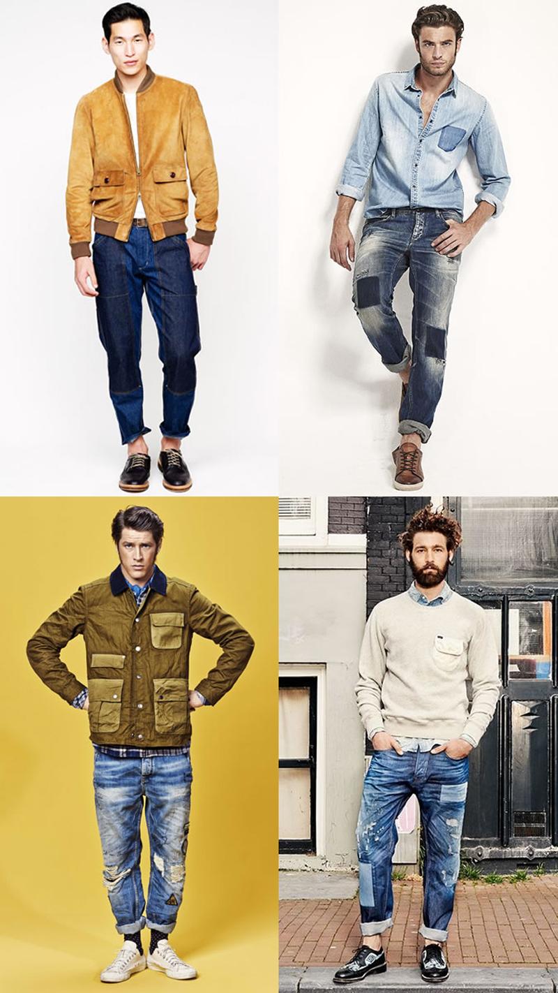 Các xu hướng áo & quần jeans nam hot 2016 - embellished - elleman