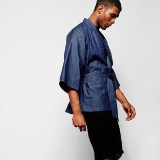 Các xu hướng áo & quần jeans nam hot 2016 - japanese Reclaimed vintage denim karate jacket - elleman