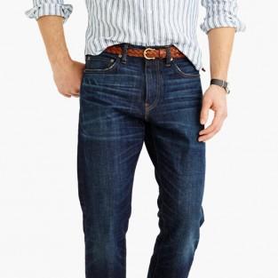 Các xu hướng áo & quần jeans nam hot 2016 - relaxed fit J.Crew - elleman