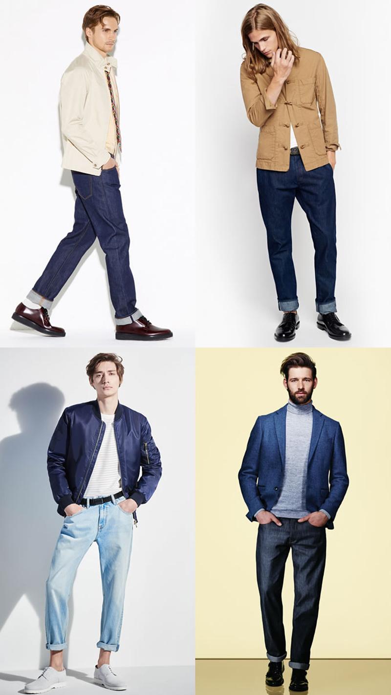 Các xu hướng áo & quần jeans nam hot 2016 - relaxed fits - elleman