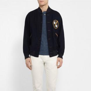 quần jeans nam trắng - LEVI'S MADE & CRAFTED tack slim-fit stretch-denim jeans - elleman