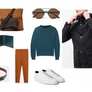 Mix & Match áo khoác nam cho một mùa Xuân không lạnh