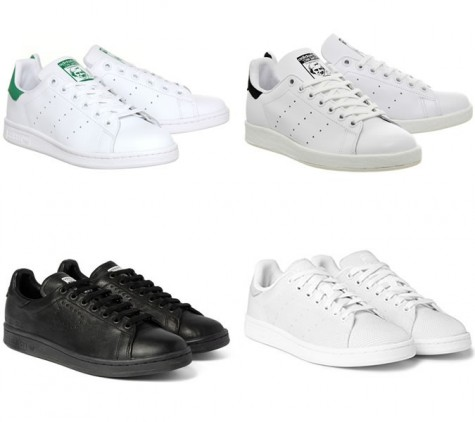 6 thương hiệu giày thời trang tối giản đình đám nhất hiện nay - adidas stan smith - elleman 1