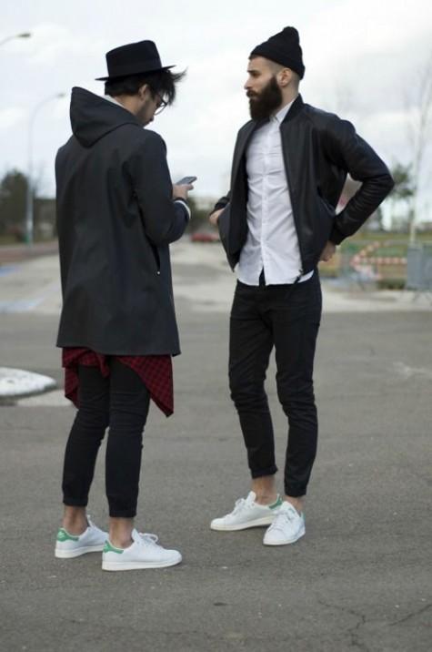 6 thương hiệu giày thời trang tối giản đình đám nhất hiện nay - adidas stan smith - elleman 2