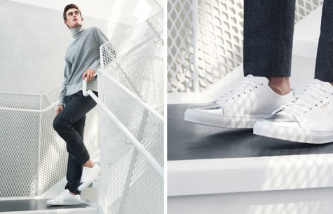 6 thương hiệu giày thời trang tối giản đình đám nhất hiện nay - axel arigato - elleman 5