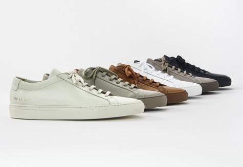 6 thương hiệu giày thời trang tối giản đình đám nhất hiện nay - common projects - elleman 1
