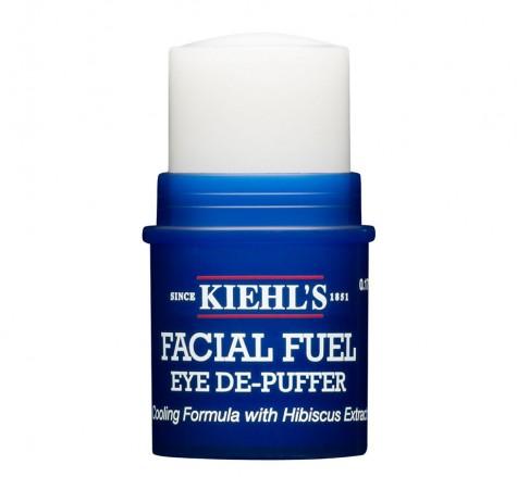 Với chiết xuất từ caffein ở dạng thỏi, Kiehl's Facial Fuel Eye De-Puffer rất tốt với những ai gặp vấn đề về quầng thâm và bọng mắt.