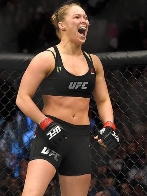 người chiến thắng ảo Ronda Rousey - elleman 1