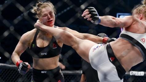 người chiến thắng ảo Ronda Rousey - elleman 2