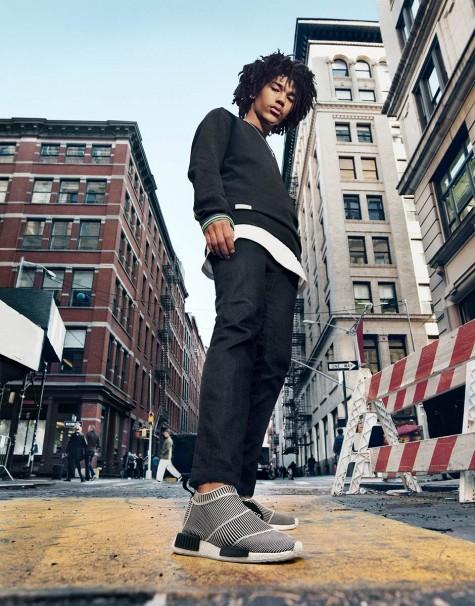 xu hướng thời trang adidas nmd city sock elleman1