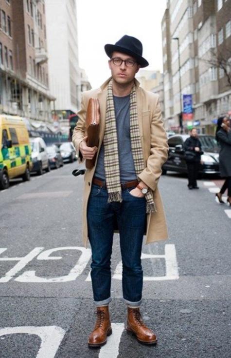 7 xu hướng thời trang giày nam nên tránh - brogue boots - elleman 1
