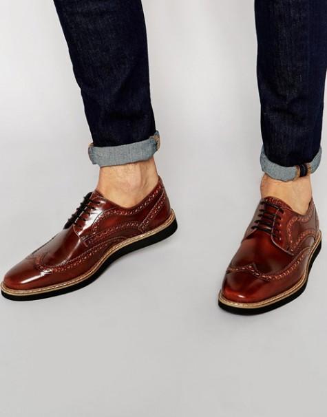 7 xu hướng thời trang giày nam nên tránh - brogues - elleman 1