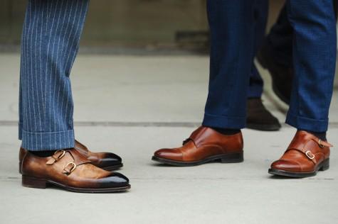 7 xu hướng thời trang giày nam nên tránh - monk-strap - elleman 3
