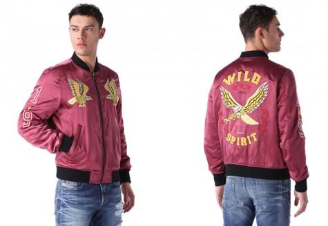 Áo khoác nam Souvenir Jacket - DIESEL souvenir jacket - elleman