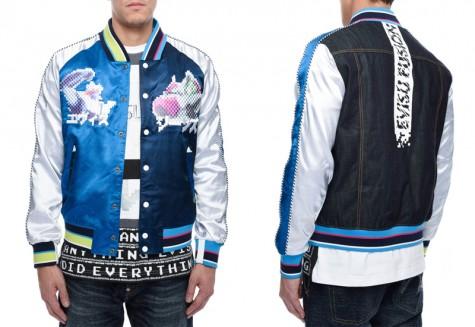 Áo khoác nam Souvenir Jacket - EVISU souvenir jacket - elleman