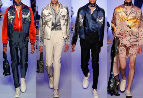 Áo khoác nam Souvenir Jacket - Louis Vuitton souvenir jacket 2 - elleman