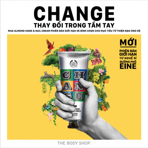 The Body Shop - Thay đổi trong tầm tay - featured image - elleman