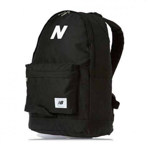 Đen - phong cách thời trang - New Balance black bakcpack - elle man