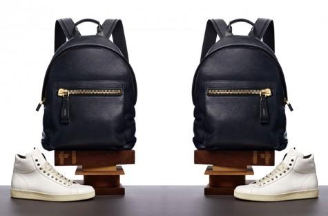 Đen - phong cách thời trang - Tom Ford black bakcpack - elle man