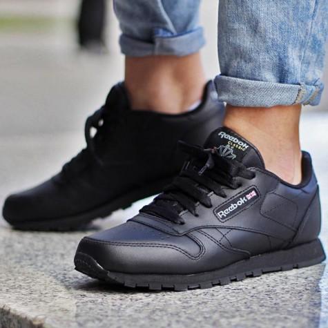 Đen - phong cách thời trang - black Reebok classics - elle man