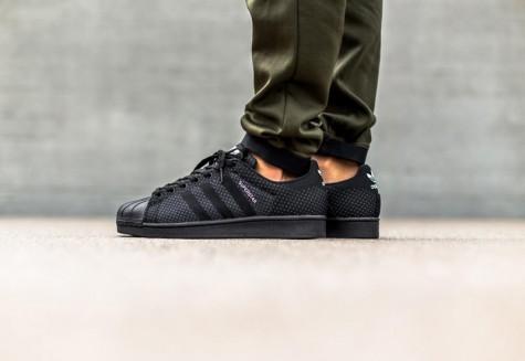 Đen - phong cách thời trang - black adidas originals - elle man