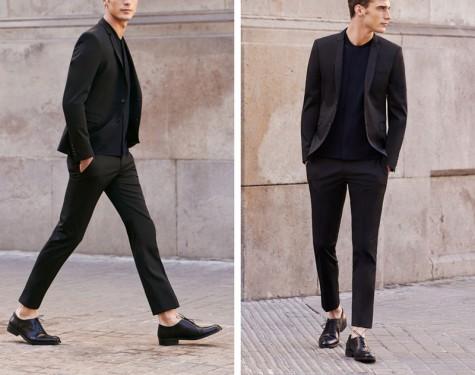Đen - phong cách thời trang - black oxford - elle man 2