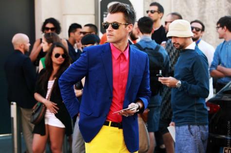 5 cách kết hợp màu sắc trang phục