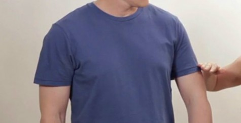 áo thun nam - elle man 5 - sleeves length