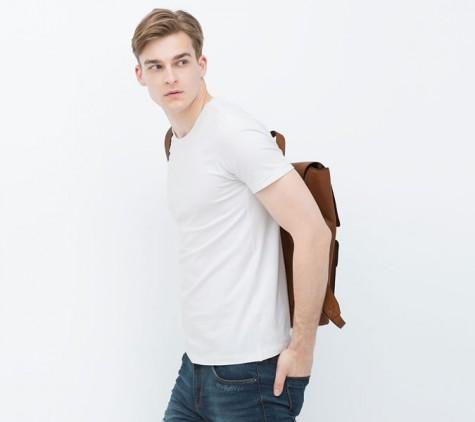áo thun nam - elle man 6 - Zara