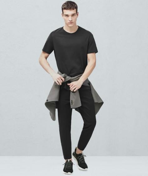 áo thun nam - elle man-black