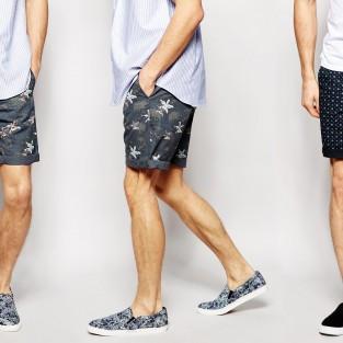 Chọn giày cho 4 kiểu quần shorts nam