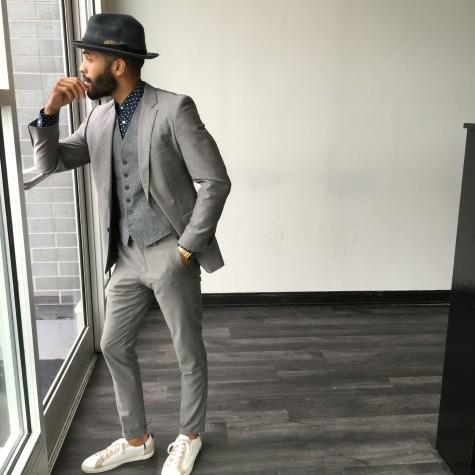 5 cách phối đồ suits đẹp cùng trainers 2 - elleman