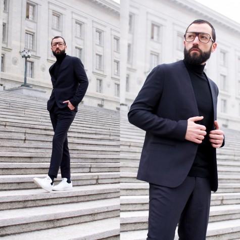 5 cách phối đồ suits đẹp cùng trainers 3 - elleman