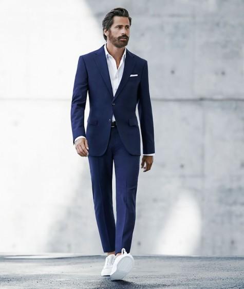 5 cách phối đồ suits đẹp cùng trainers 4 - elleman