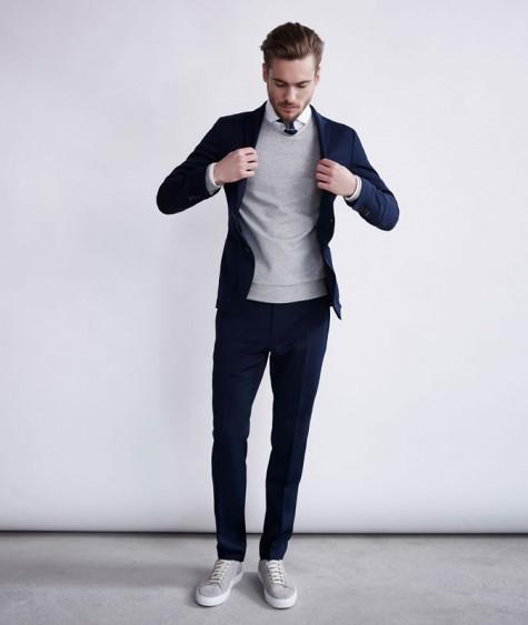 5 cách phối đồ suits đẹp cùng trainers 8 - elleman