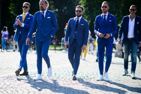 5 cách phối đồ suits đẹp cùng trainers
