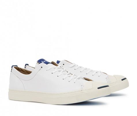 Những quy tắc phối đồ suits đẹp cùng giày trainers - jack purcell white sneakers - elleman